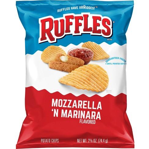 Ruffles Mozzarella 'N Marinara Flavored Potato Chips - 2.625oz - image 1 of 2
