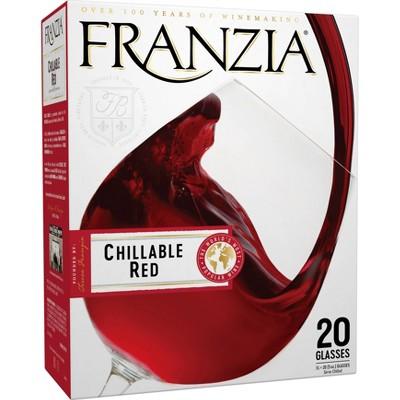 Franzia Chillable Red Blend Wine - 3L Box