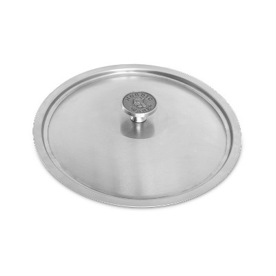 Nordic Ware Restaurant 10 inch Brushed Stainless-Steel Lid