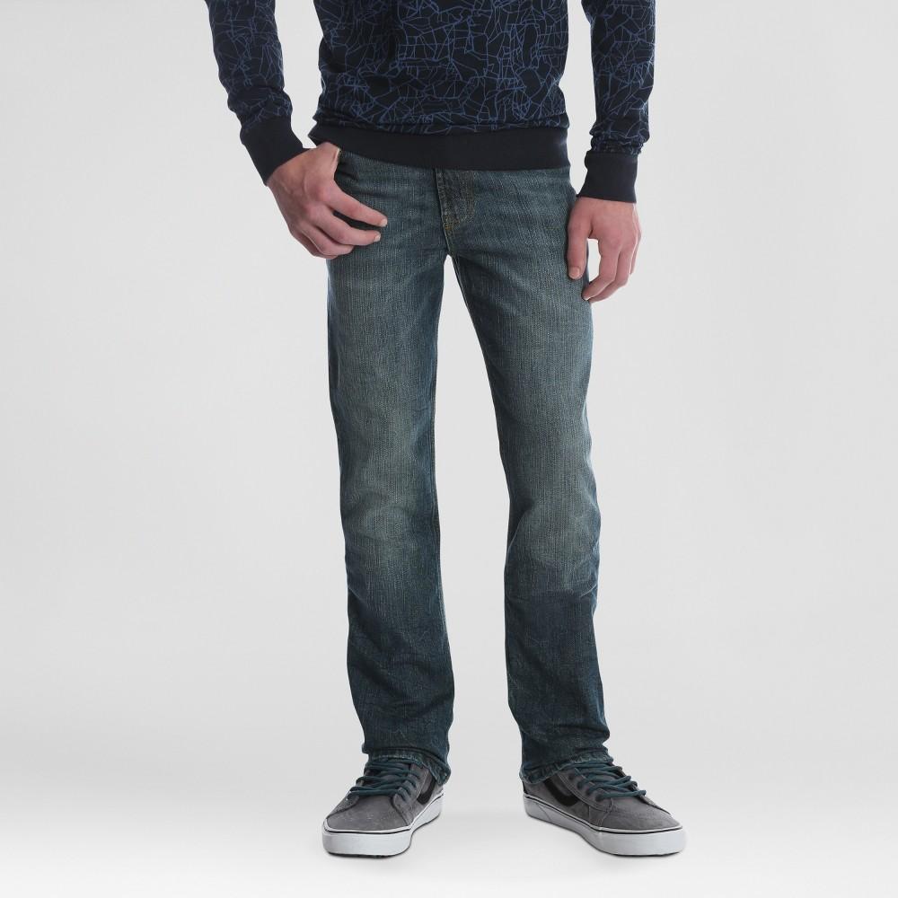Image of Wrangler Boys' Five Pocket Slim Straight Fit Jeans - Blue 10