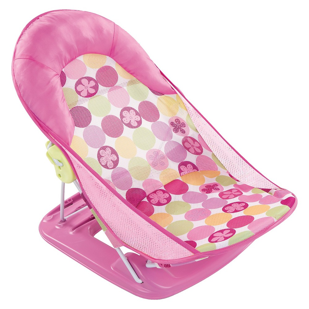 Summer Infant Deluxe Baby Bather - Pink Circle Daisy