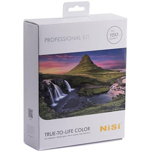 NiSi 150mm Professional Filter Kit, Includes 2x ND Filters, 3x GND Filters, Polarizer Glass Filter and Case - image 1 of 3