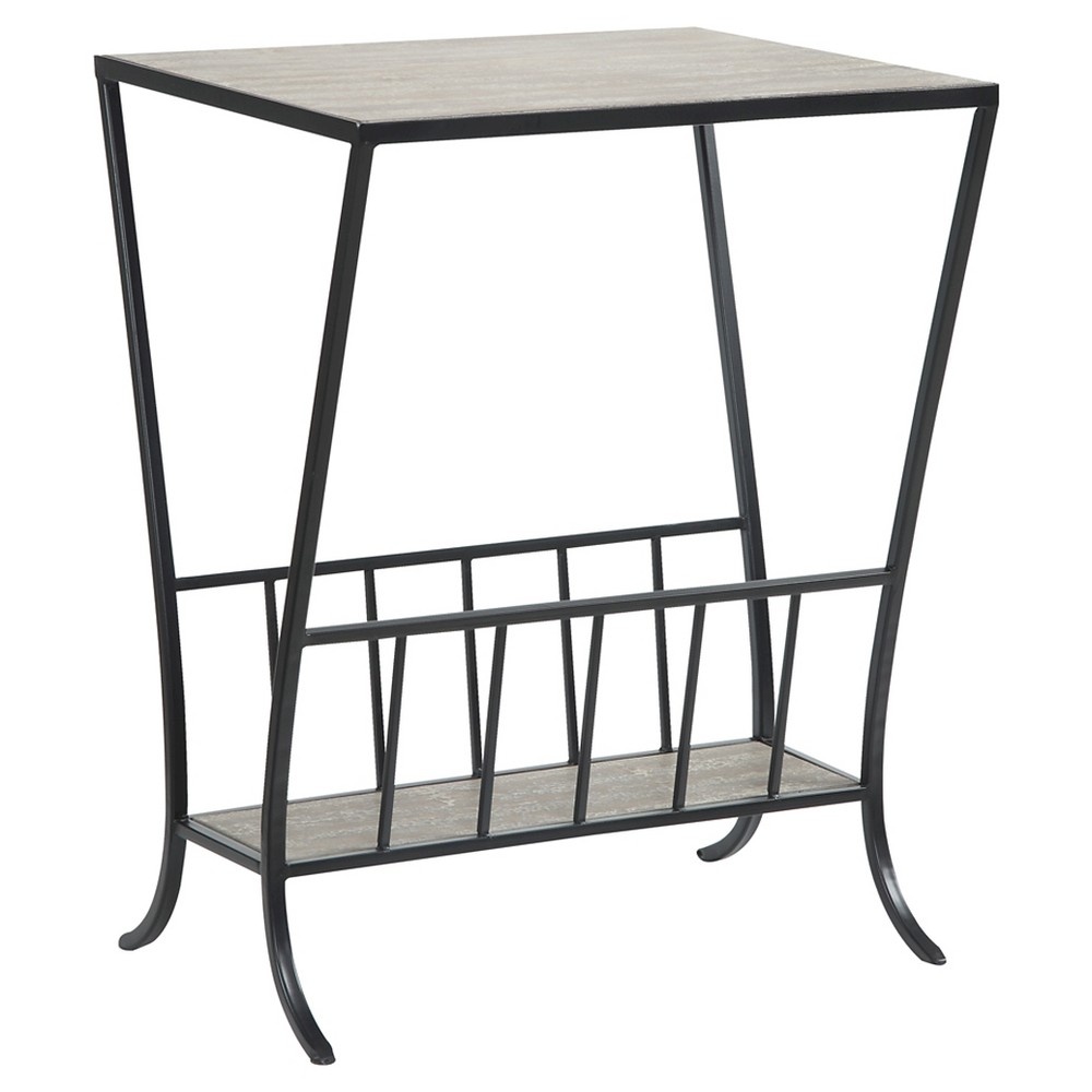 Wyoming Magazine End Table - Convenience Concepts