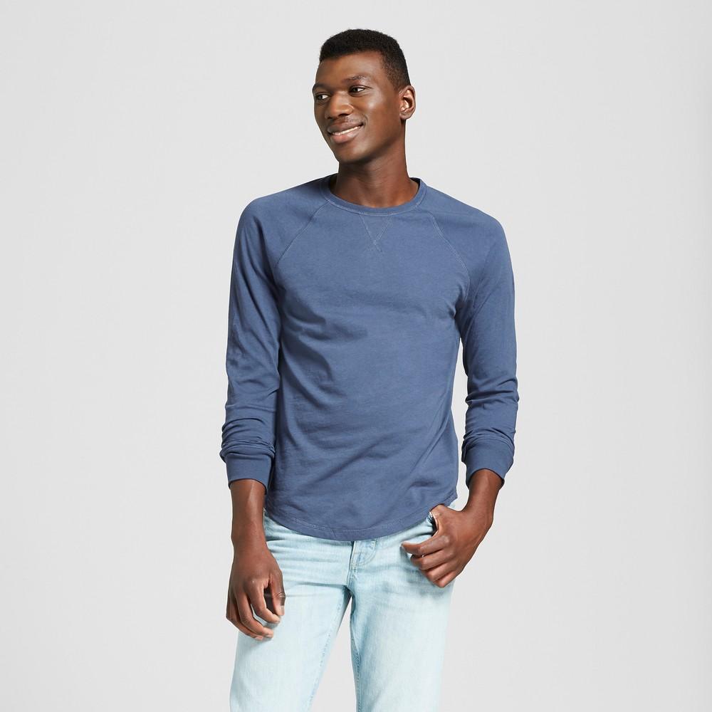 Men's Long Sleeve T-Shirt - Goodfellow & Co Geneva Blue S