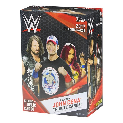 2017 WWE Topps Wrestling Trading Cards Full Box - image 1 of 2