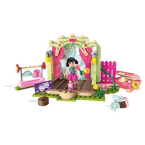 Mega Construx Welliewishers Garden Theater Building Set - image 1 of 14