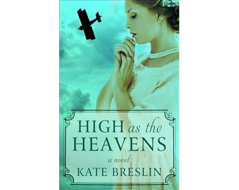 High As the Heavens -  Large Print by Kate Breslin (Hardcover) - image 1 of 1