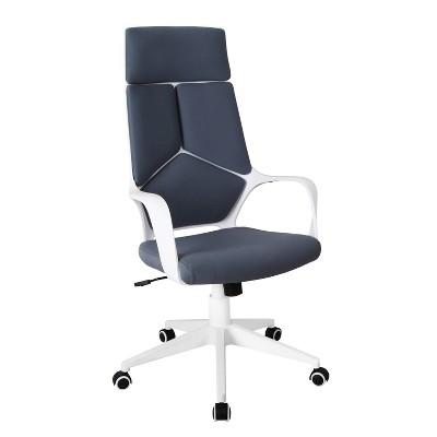 Modern Studio Office Chair Gray/White - Techni Mobili