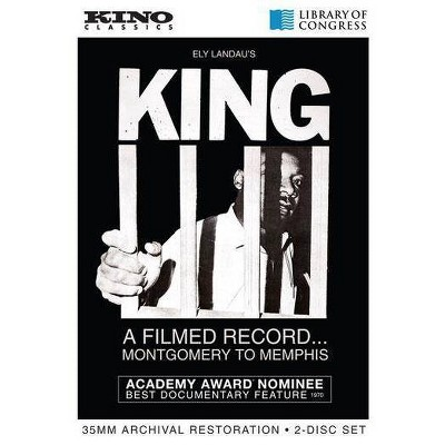 King: A Filmed Record ... Montgomery To Memphis (DVD)(2013)