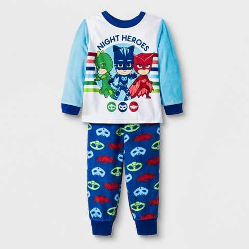 47eff8f4bd3e Toddler Boys  PJ Masks 2pc Pajama Set - Blue 2T   Target