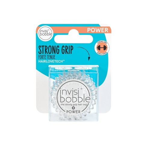 invisibobble Power Hair Ring - Crystal Clear - 3pk - image 1 of 3