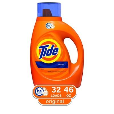 Tide Original HE Liquid Laundry Detergent - 46 fl oz