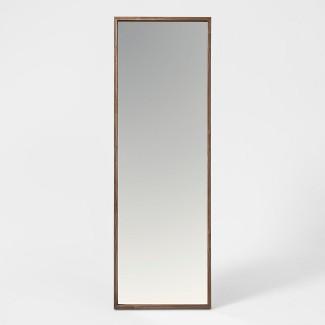 "60""x20"" Walnut Hairpin Finish Floor Mirror Brown - Project 62™"