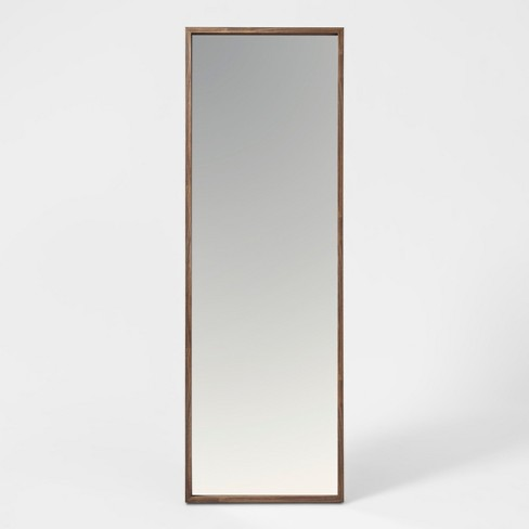 "60""x20"" Walnut Hairpin Finish Floor Mirror Brown - Project 62™ - image 1 of 2"