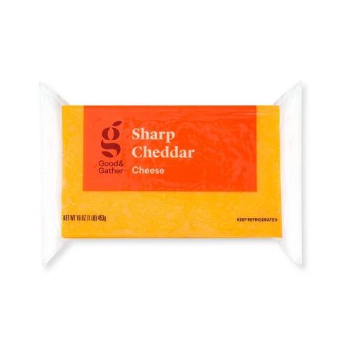 Sharp Cheddar Cheese - 16oz - Good & Gather™ - image 1 of 2