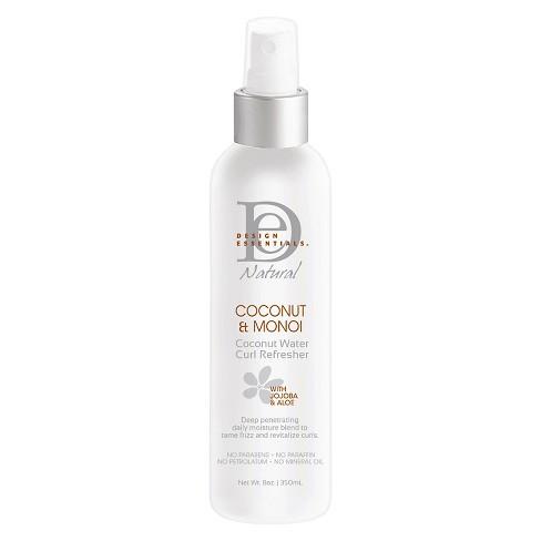 Design Essentials Coconut Monoi Coconut Water Curl Refresher 8oz