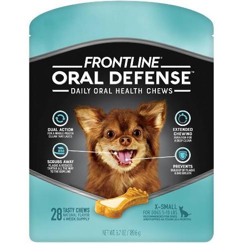 Frontline Oral Defense Dog Chews - XS - 28ct - image 1 of 4