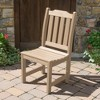 Liegh Patio Dining Side Chair Tuscan Taupe - Highwood - image 2 of 3