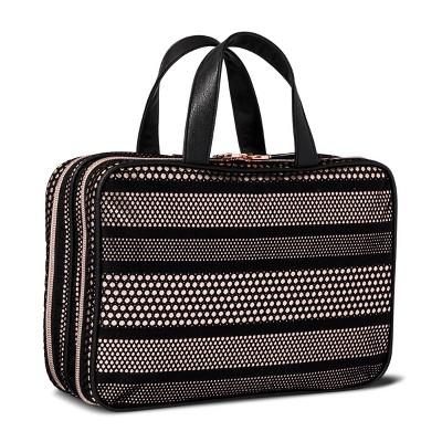 Sonia Kashuk™ Cosmetic Bag Large Weekender Mesh with Metallic