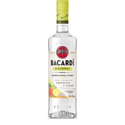 Bacardi Pineapple Flavored Rum - 750ml Bottle
