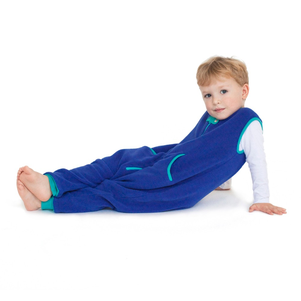 Image of baby deedee Sleep Kicker Peacock - 18M-2T, Infant Unisex, Size: 18M - 2T, Blue/Turquoise