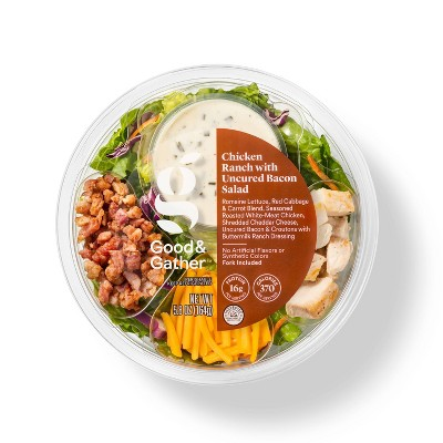 Chicken Ranch with Uncured Bacon Salad Bowl - 5.8oz - Good & Gather™