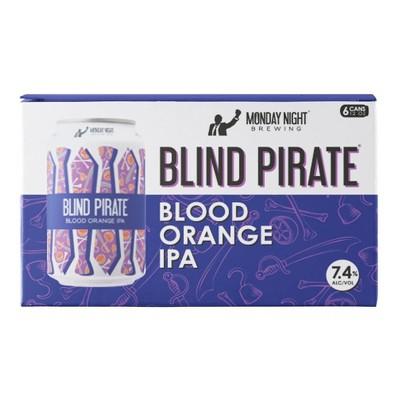 Monday Night Blind Pirate Blood Orange IPA Beer - 6pk/12 fl oz Cans