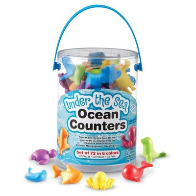 Learning Resources Under The Sea Ocean Counters, Ages 3