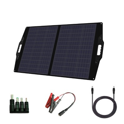FlexSolar 100W Foldable and Portable Charging Station