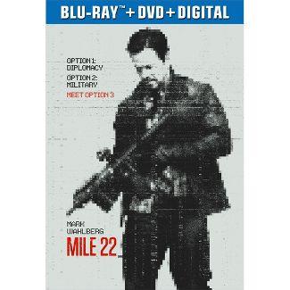 Mile 22 (Blu-Ray + DVD + Digital)