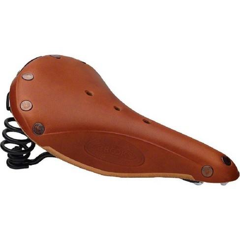 Brooks B67 Men/'s Saddle Honey with black rails//chrome springs