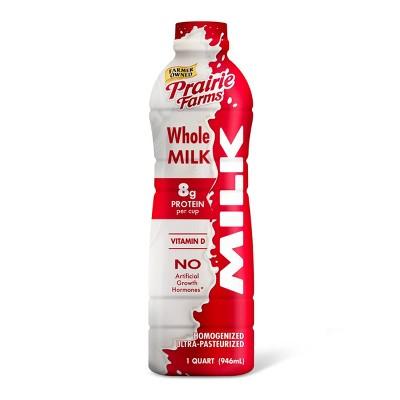 Prairie Farms Whole Milk UHT - 1qt