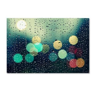 "30"" x 47"" Rainy City by Beata Czyzowska Young - Trademark Fine Art"
