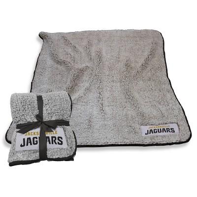 NFL Jacksonville Jaguars Frosty Fleece Throw Blanket