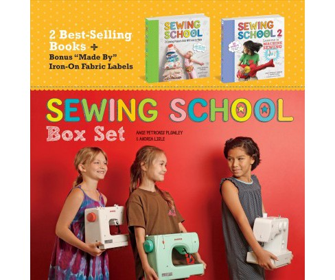Sewing School -  by Amie Petronis Plumley & Andria Lisle (Paperback) - image 1 of 1