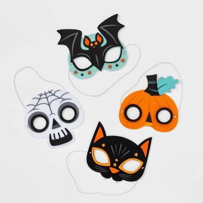 8pk Felt Party Mask Halloween Craft Activity Kit - Hyde & EEK! Boutique™