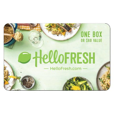 HELLOFRESH $60 (Email Delivery)