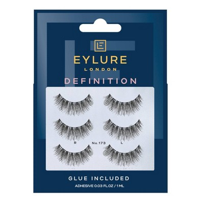 Eylure False Eyelashes Definition 173 - 3pr