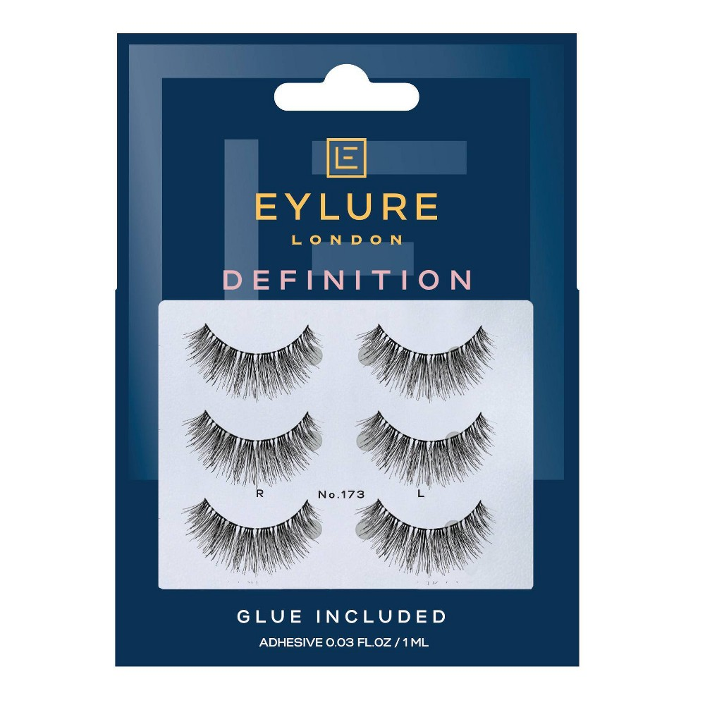 Image of Eylure False Eyelashes Definition 173 - 3pr