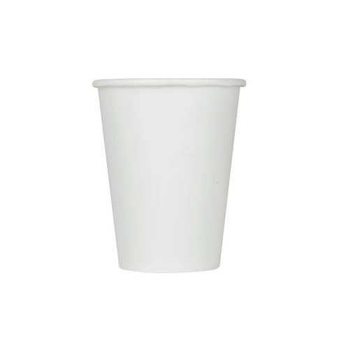Karat C-KCP9W 9 Ounce Poly Lined Sturdy Condensation Resistant To Go High Quality Recyclable Paper Cold Cups for Restaurants, White (1000 Pack) - image 1 of 4