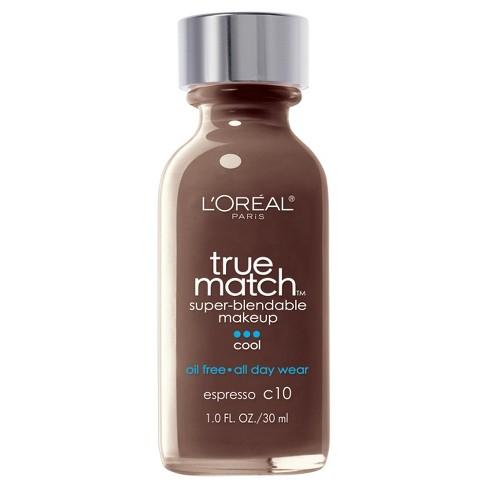 L'Oreal Paris True Match Super-Blendable Makeup - Deep Shades - 1.0 fl oz - image 1 of 3
