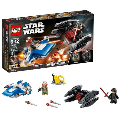 LEGO Star Wars™ A-Wing™ vs. TIE Silencer™ Microfighters 75196