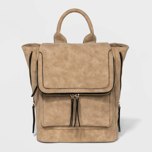 VR NYC Kendall Backpack - Tan - image 1 of 4