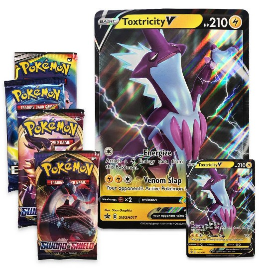 Pokemon Trading Card Game Toxtricity Vmax Box image number null