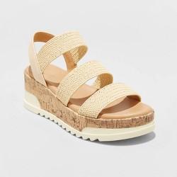 Women's Benni Sporty Cork Bottom Espadrille Platform Sandals - Universal Thread™