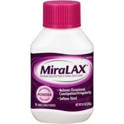 MiraLax Laxative Powder 14 Days - 8.3oz