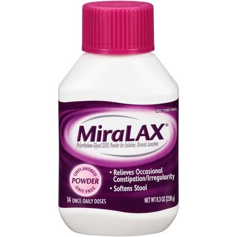 MiraLax Laxative Powder 14 Days - 8.3oz - image 1 of 3
