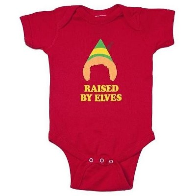 Ripple Junction Elf The Movie Raised By Elves Short Sleeve Romper Infant