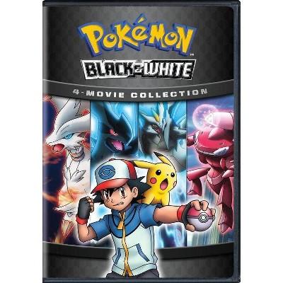 Pokemon Black & White 4: Movie Collection (DVD)(2019)