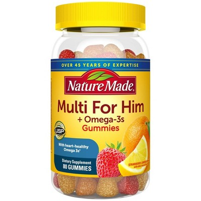 Multivitamins: Nature Made Multi For Him Gummies